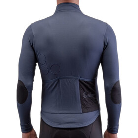 Isadore Long Sleeve Shield Trikot Herren indigo blue/black